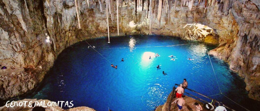 Cenote Palomitas Valladolid