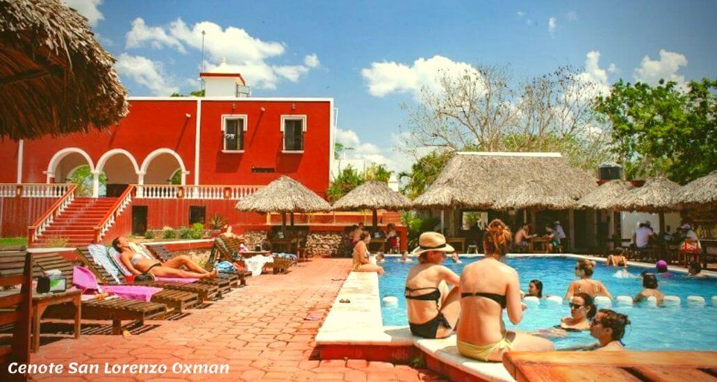 Piscina Cenote San Lorenzo Oxman