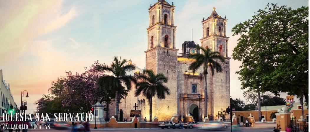 Iglesia San Servacio Valladolid Yucatán México