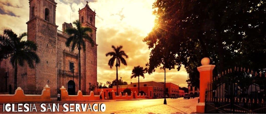 Iglesia San Servacio Valladolid Yucatan Mexico