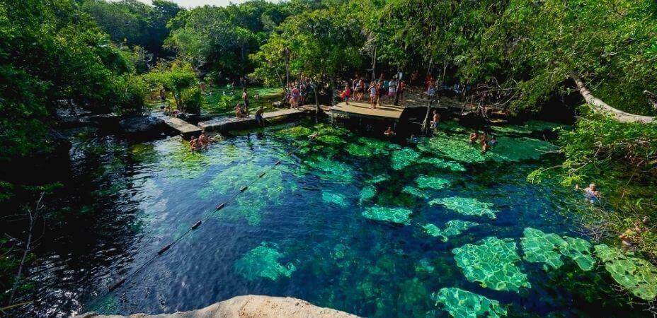 Cenote Azul Tulum México