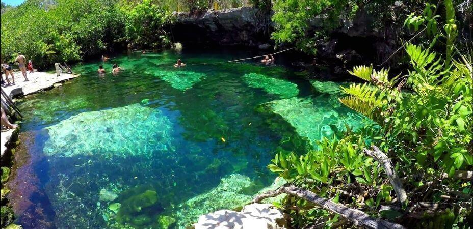 Cenote Cristalino Tulum México