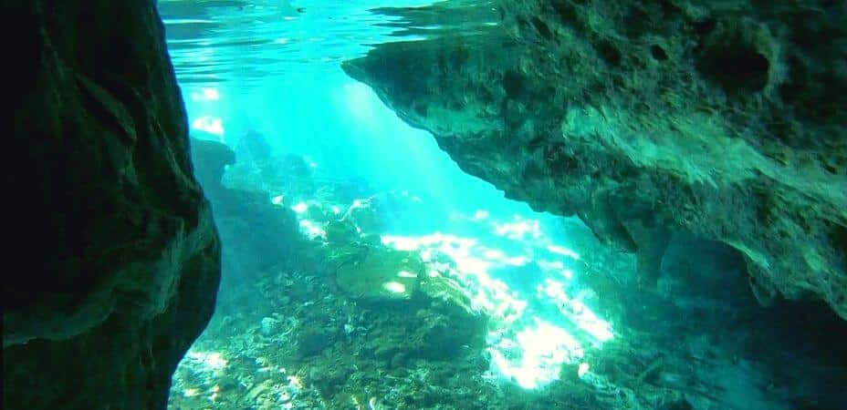 buceo en cenotes de Tulum