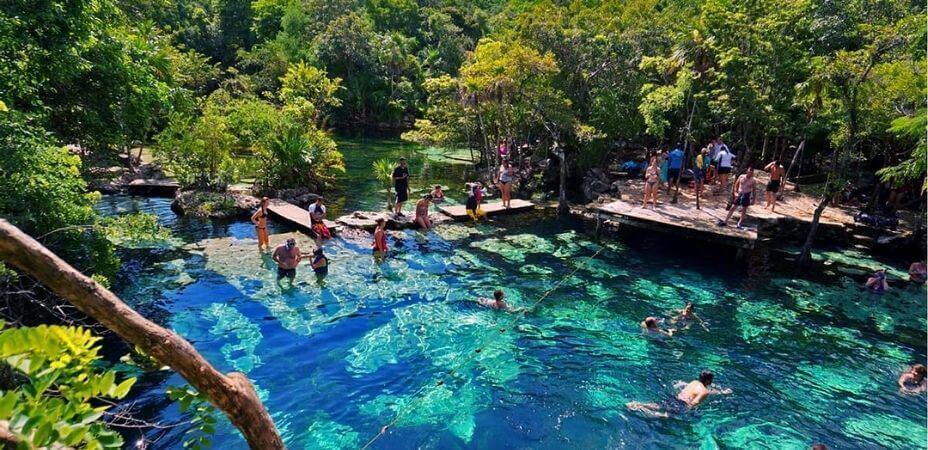 Cenotes en Playa del Carmen