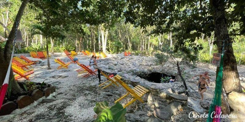 Cenote Calavera Tulum México