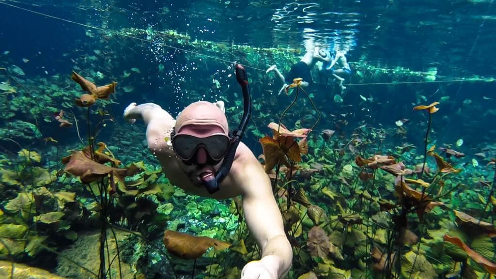 snorkeling cenotes yucatán